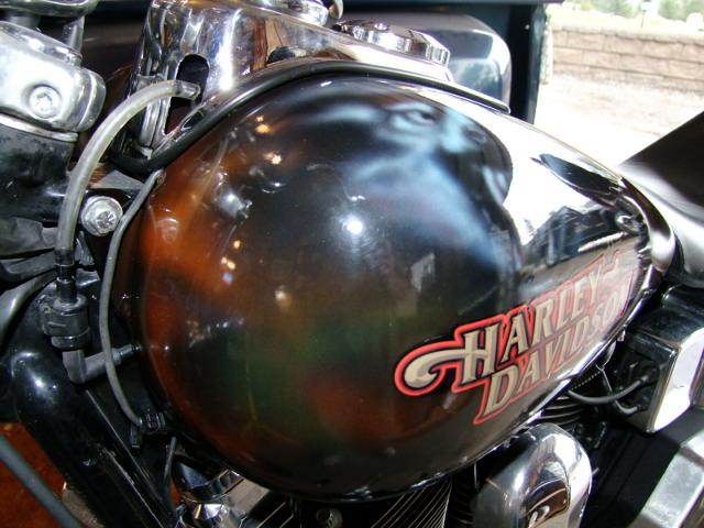 Custom Air Brush - Harley Davidson